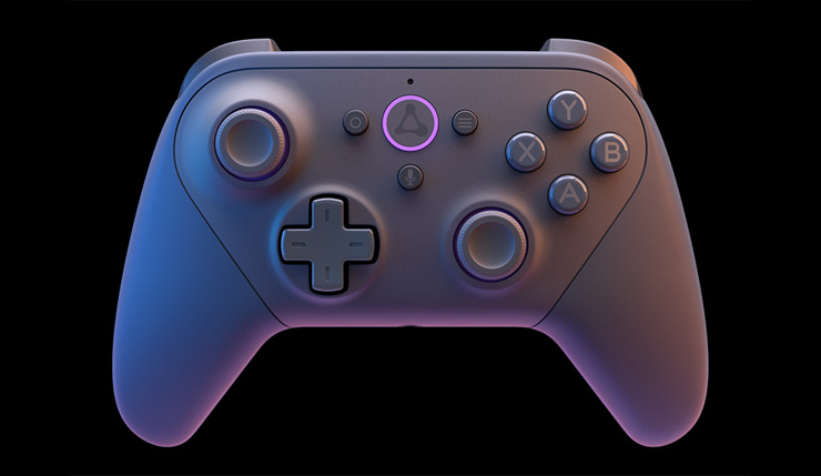 luna controller screenshot
