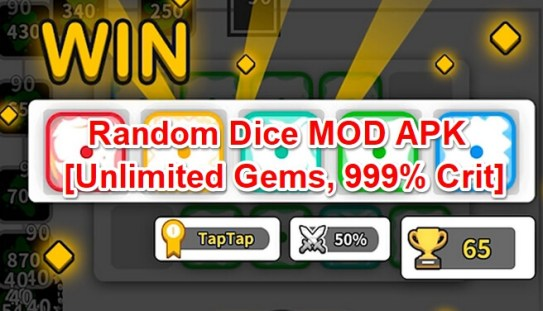 random dice mod apk hack android