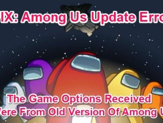fix among us update error