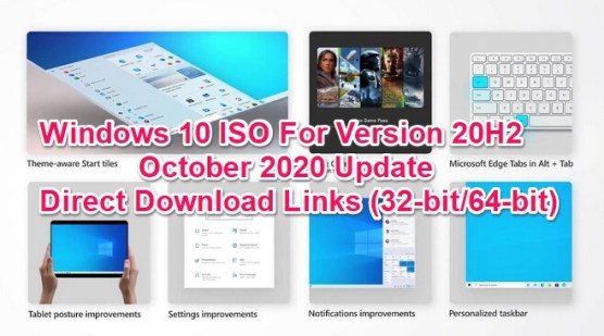 win 10 iso for october 2020 update 20h2