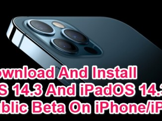 download and install ios 14.3 beta ipados14.3 beta