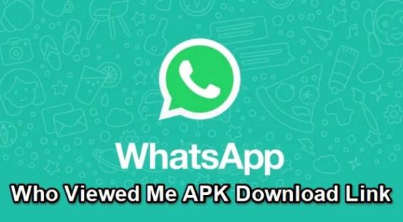 whatsapp who viewed me apk