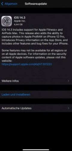 ios 14.3 ota download