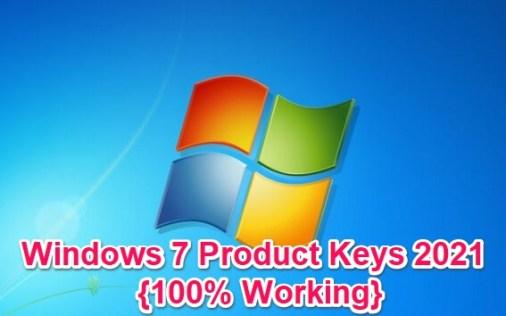 win 7 product keys