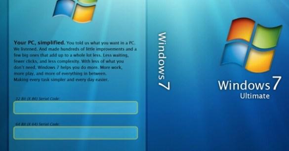 windows 7 pro product key