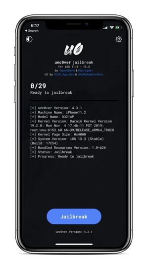unc0ver 6.0.1 ipa