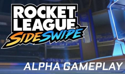 rocket league sideswipe alpha