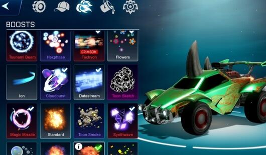 rocket league sideswipe apk screenshot