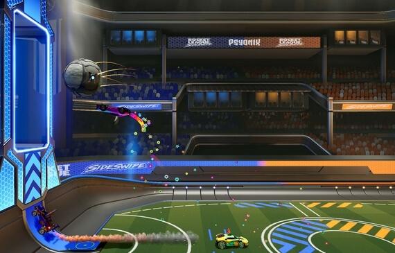 rocket league sideswipe beta screenshots