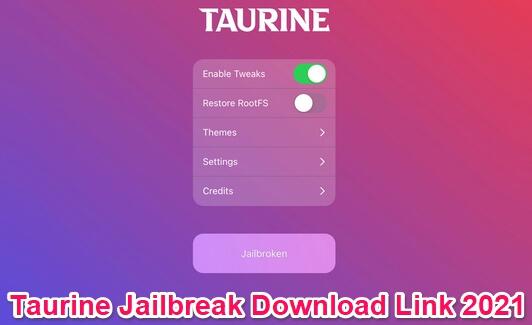 taurine jailbreak download ipa