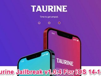 taurine jailbreak version 1.0.4