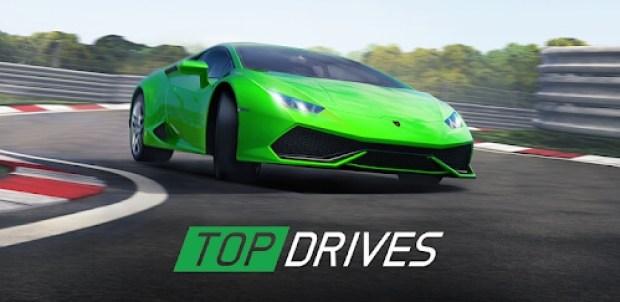 top drives car cards racing mod apk