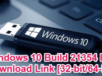 windows 10 build 21354 iso download and install