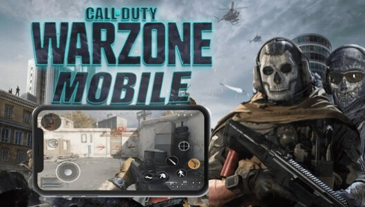 call of duty warzone mobile mod apk