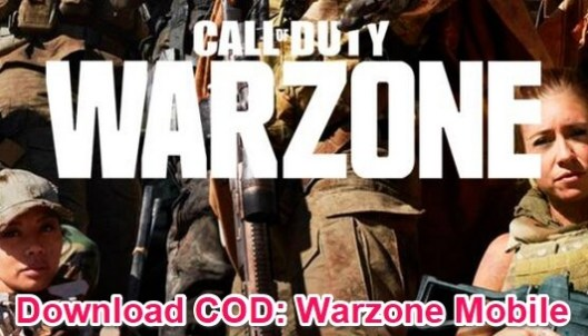 cod warzone mobile download