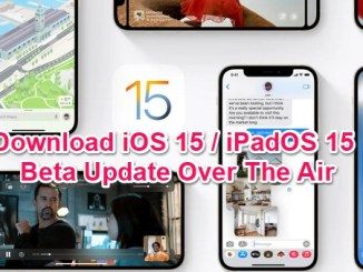 ios 15 update over the air