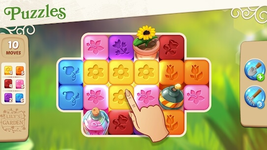 lily's garden puzzle game