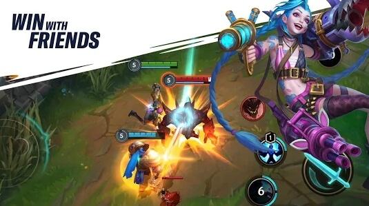 league of legends wild rift modded apk