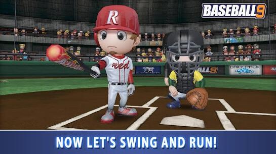 baseball 9 apk screenshot