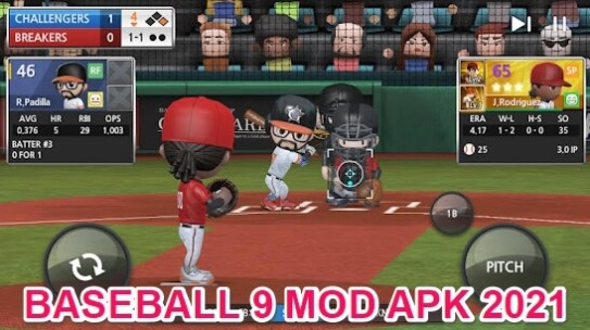 baseball 9 hack apk