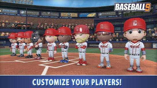 baseball 9 screenshots