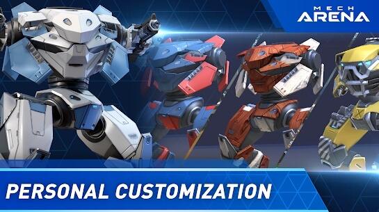 mech arena robot showdown apk screenshots