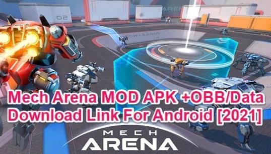 mech arena robot showdown hack apk