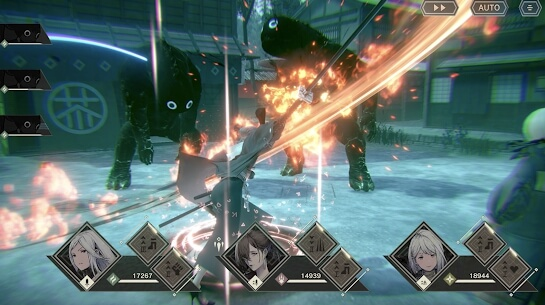 nier reincarnation screenshots