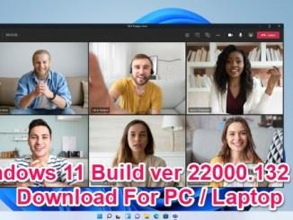 windows 11 build 22000.132 iso