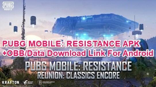 pubg mobile 1.6 apk obb download link