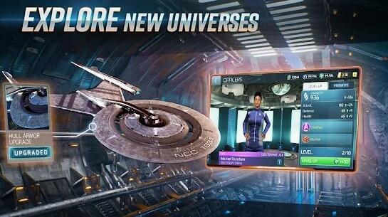 star trek fleet command apk screenshot