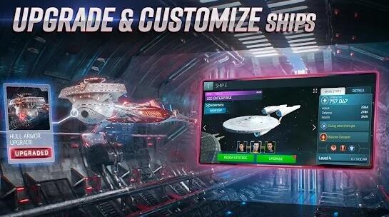star trek fleet command screenshot