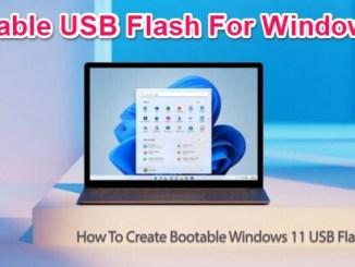 create bootable usb flash for windows 11
