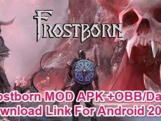 frostborn download mod apk