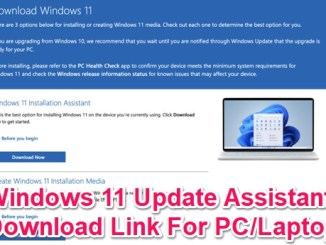 windows 11 update assistant download