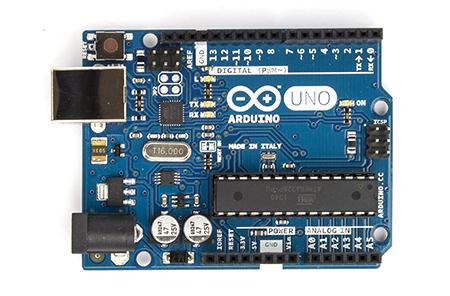 Arduino Tampak Depan