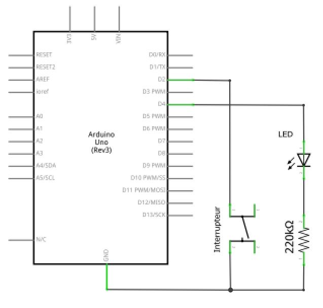 Transformer un bouton poussoir en interrupteur