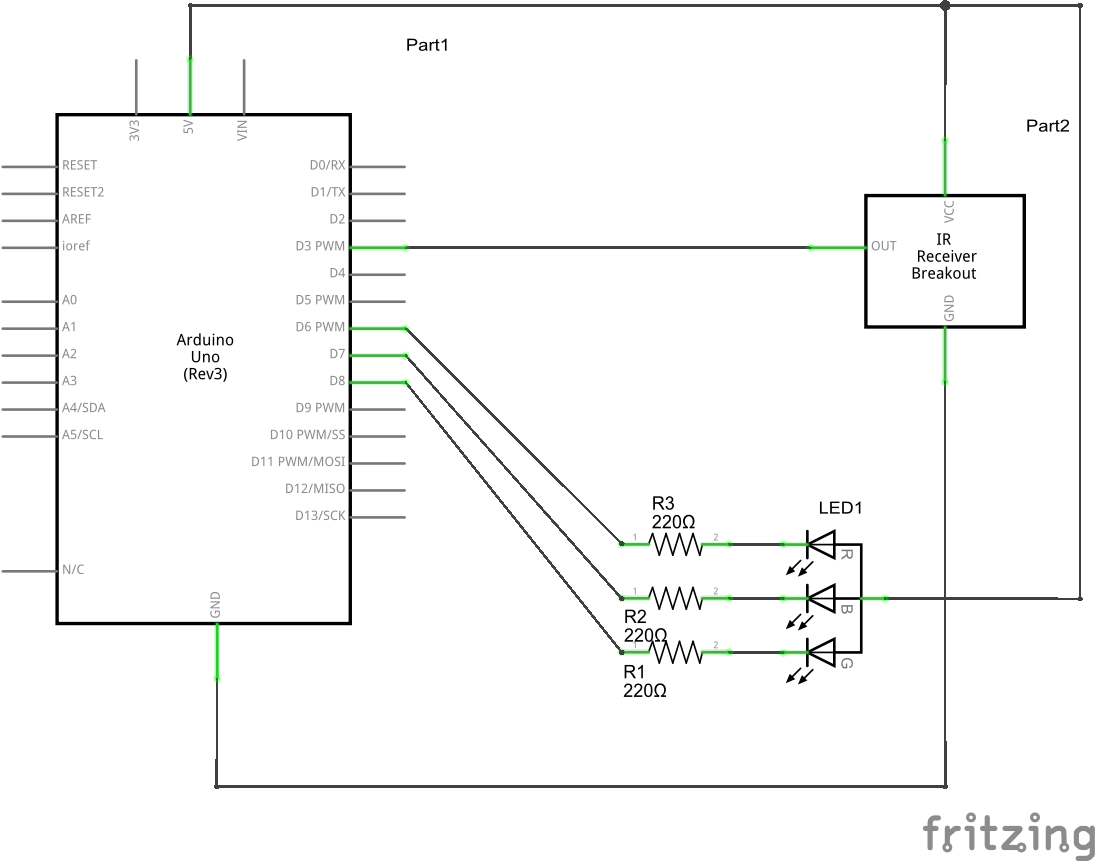 Led Schematic Polarity
