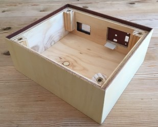 Finished box - rear view