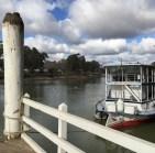 Mildura waterfront on the Murray River