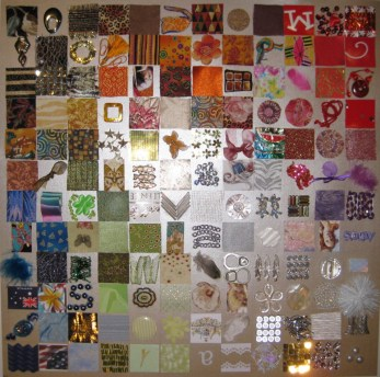 Collage of squares