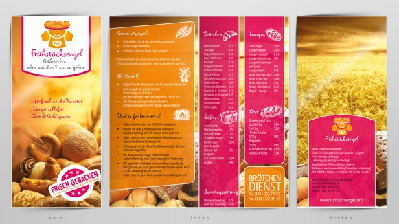 Frühstücksengel Produktflyer