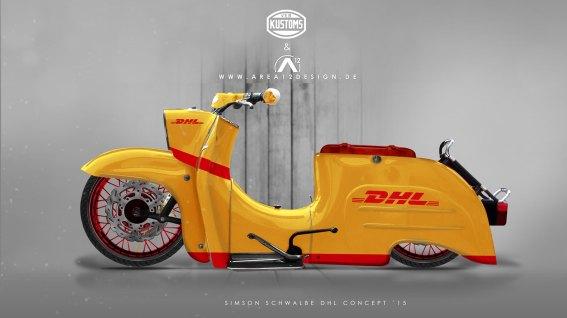 Simson Schwalbe DHL Concept