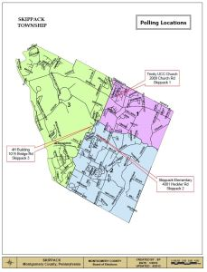 SKIPPACK MAP