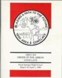 Area 4 History: 1990 Area 4 Conclave Booklet