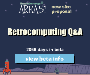 Stack Exchange Q&A site proposal: Retrocomputing