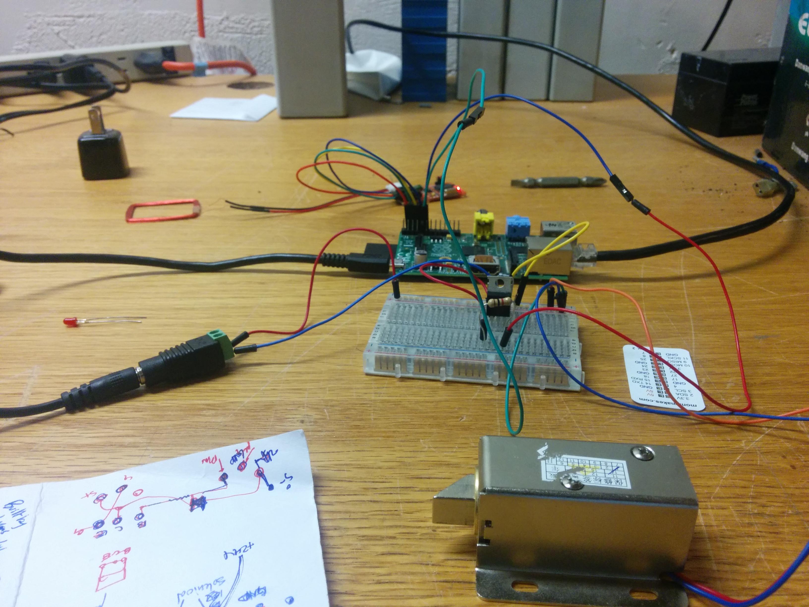 DIY RFID Access System