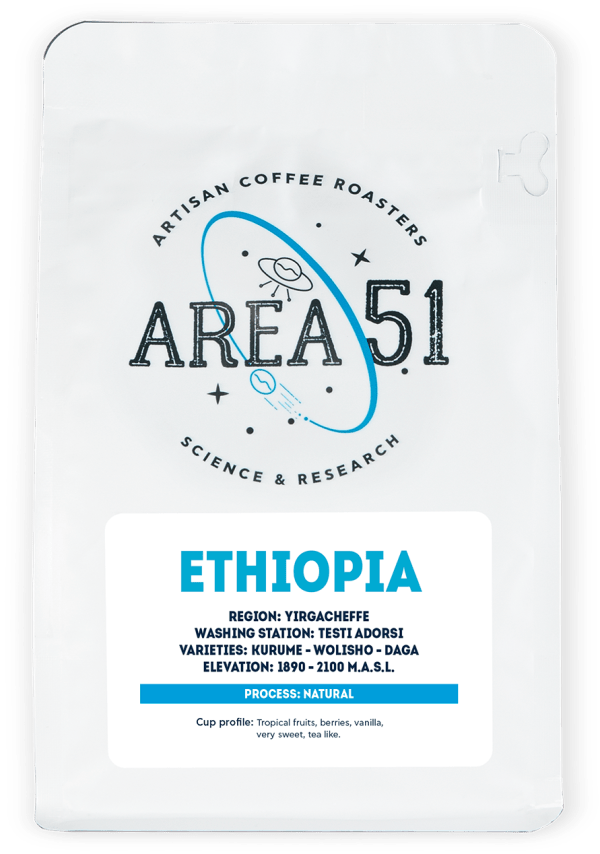 Area 51 Coffee - ETHIOPIA