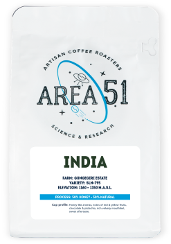 Area 51 Coffee - INDIA