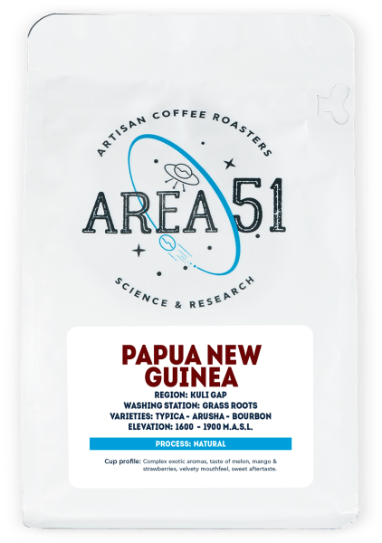 Area 51 Coffee - PAPUA